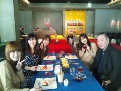 桜京子 公式ブログ/ランチでお祝い★ 画像1