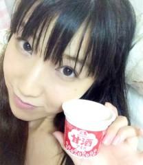 桜京子 公式ブログ/甘酒アイス★ 画像1