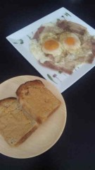 大沢あかね 公式ブログ/おしゃれ朝食。 画像2