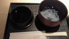 川上リサ 公式ブログ/蟹天ぷら&葛切り 画像2