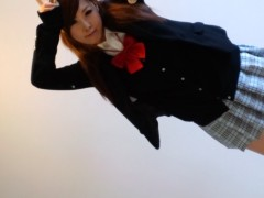 朝弓紗名 公式ブログ/制服…撮影…プギャwww 画像1