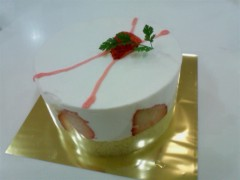朝弓紗名 プライベート画像 手作りケーキ
