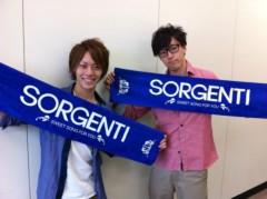 SORGENTI 公式ブログ/控室なう 画像2