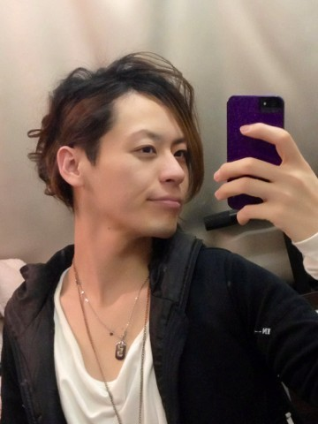 一部の髪型♪( ´▽`)