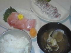 木村貴史 公式ブログ/旬の黒鯛と天然本マグロ 画像1