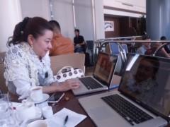 石田美菜子 公式ブログ/ユングセミナー打ち合わせちう 画像1