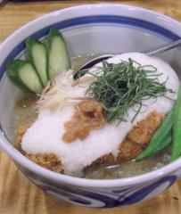 石田美菜子 公式ブログ/冷やしカツ丼 画像1