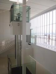 石田美菜子 公式ブログ/ガスの科学館のエレベーターには天井がない。気持ち良い空間 画像1