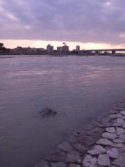 石田美菜子 公式ブログ/台風後の多摩川 画像1