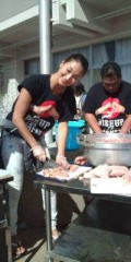 KONISHIKI 公式ブログ/炊き出し一日目! 画像1