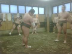 KONISHIKI 公式ブログ/朝稽古 画像1