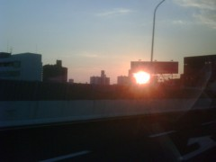 KONISHIKI 公式ブログ/夕日 画像2
