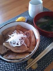あらいすみれ 公式ブログ/美味しい豚丼♪ 画像1