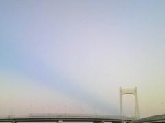 あらいすみれ 公式ブログ/空の道 画像1