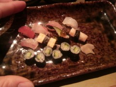 あらいすみれ 公式ブログ/超ミニミニにぎり寿司 画像1