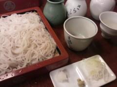 あらいすみれ 公式ブログ/冷酒とお蕎麦 画像1