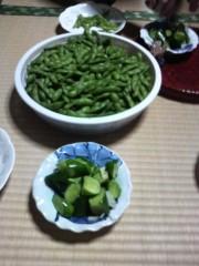 あらいすみれ 公式ブログ/激ウマ枝豆&おつけもの 画像1
