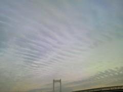 あらいすみれ 公式ブログ/今の雲 画像1