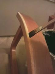 あらいすみれ 公式ブログ/椅子張替作業� 画像1