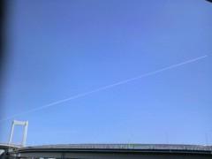 あらいすみれ 公式ブログ/飛行機雲 画像1