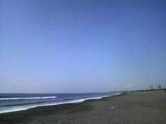 あらいすみれ 公式ブログ/海岸ロケ 画像1
