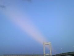 あらいすみれ 公式ブログ/長〜い雲?光? 画像1