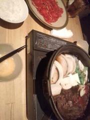 東出唯 公式ブログ/すきやき食べ放題 画像1