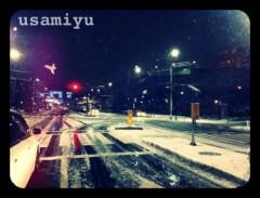 宇佐見ゆう 公式ブログ/雪だ! 画像1