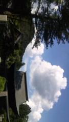 中村純子 公式ブログ/フォトギャラ…雲 画像1