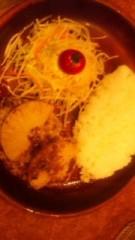 中村純子 公式ブログ/仕事の合間のお食事風景 画像2