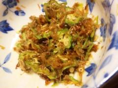 中村純子 公式ブログ/収穫野菜第一弾&料理 画像3