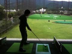 岩田雄介 公式ブログ/初体験(;一_一)!ゴルフ 画像1