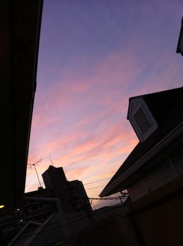 夕陽ってイイですよね(^-^)