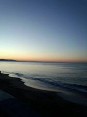 吉田麻梨紗 公式ブログ/由比ヶ浜での写メ〜(*´Д`*) 画像2