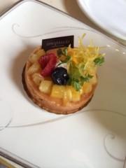 吉田麻梨紗 公式ブログ/夏を感じるタルトケーキ(ノ∀`*) 画像1