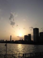 岡田はるこ 公式ブログ/夕日♪ 画像1