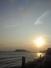 岡田はるこ 公式ブログ/江ノ島と夕日♪ 画像1