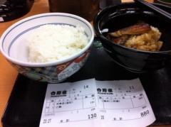 つばさ 公式ブログ/鰻丼二枚盛り(^_−)−☆ 画像2