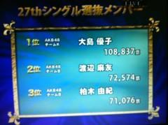つばさ 公式ブログ/AKB選抜総選挙速報! 画像3