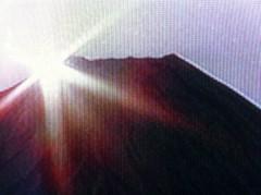 つばさ 公式ブログ/富士山のご来光と蟹^0^ 画像1