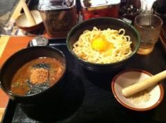 つばさ 公式ブログ/だるまつけ麺&メロンパフェ♪ 画像2