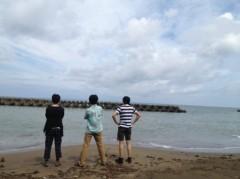つばさ 公式ブログ/海岸掃除男子。 画像1