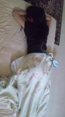 道重さゆみ(モーニング娘。) 公式ブログ/うつぶせ寝 画像1