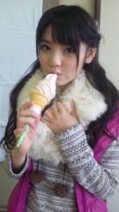 道重さゆみ(モーニング娘。) 公式ブログ/ぶどうと白桃ソフト 画像2
