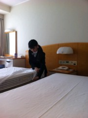 道重さゆみ(モーニング娘。) 公式ブログ/ホテルマン 画像2