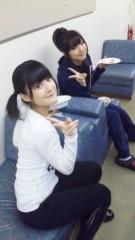 道重さゆみ(モーニング娘。) 公式ブログ/ランチ中の二人 画像1