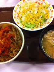 玉澤誠 公式ブログ/すき家の牛丼♪( ´▽`) 画像1