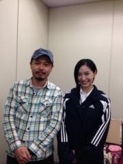 長澤奈央 公式ブログ/元木監督と。 画像1