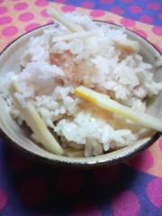 長澤奈央 公式ブログ/筍料理も今夜でラストです。 画像1