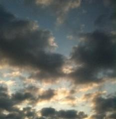 長澤奈央 公式ブログ/今朝の空 画像1